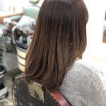 これって何かする事あるんでしょうか?ってくらいにアフターが綺麗すぎる。【これも髪質改善メソッドトリートメントの力か…!!!】