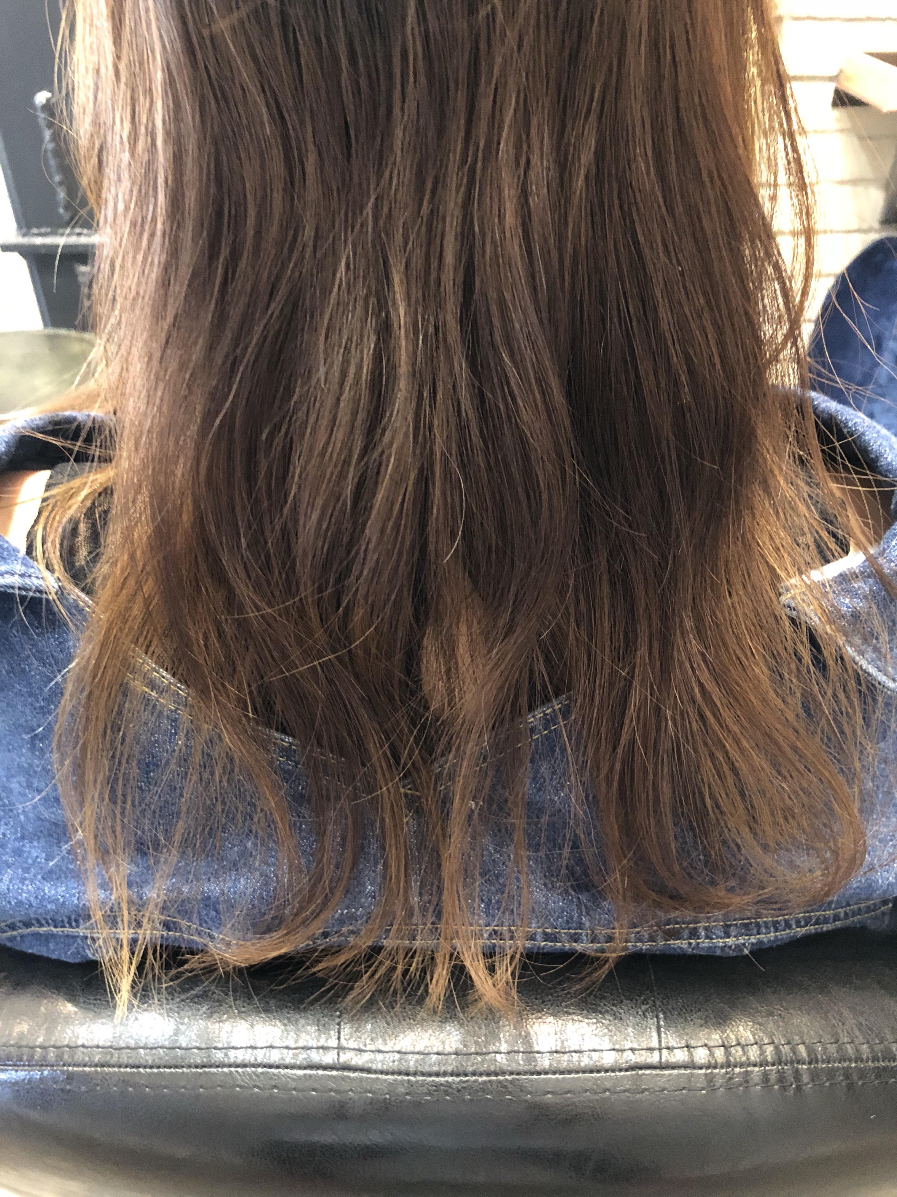 毛 髪 縮 矯正 巻き