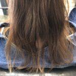 髪が重い!「軽くしてください」と言ったらスカスカになってしまった・・・からの改善☆